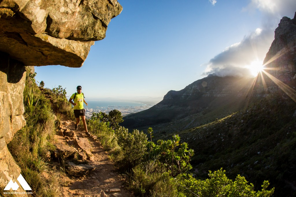 During the inuagural 100km Ultra Trail Cape Town held on Saturday, 25 October 2014.